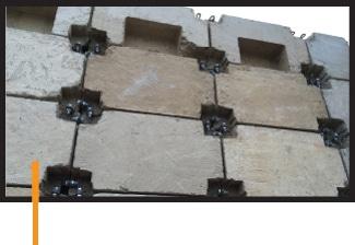 Klevabrick Suspended Floor Rib