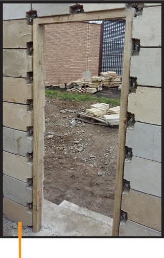 Klevabrick Door Frame